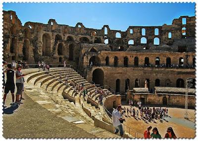 Amfiteatern i El Jem