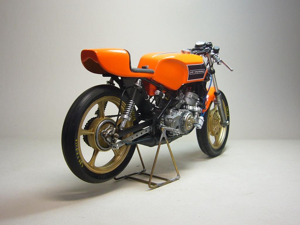racing scale models harley davidson 250 gp 1976 by woodbell moto modeling. Black Bedroom Furniture Sets. Home Design Ideas