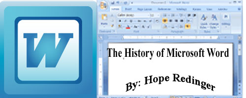 History of microsoft word what are the names of the for Bureau word origin