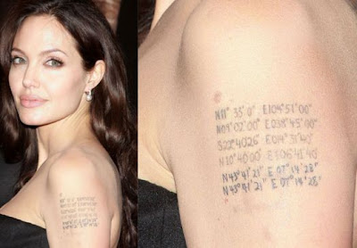 Angelina Jolie Tauagem