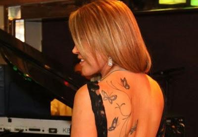 Zilú Camargo Tatuagem