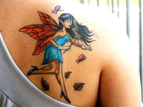 Marcadores: Tattoo Fada, Tattoo nas Costas