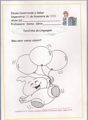 digitalizar0020 Tarefinha de linguagem para crianças