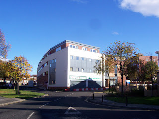 The NHS drop in centre just behind Shields Road