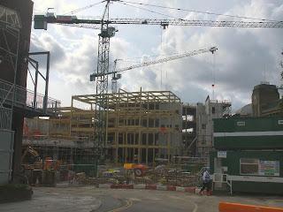 Eldon Square Construction