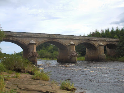 The River Tyne at Bywell