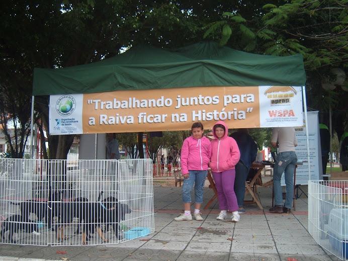 ATIVIDADES NA PRAÇA 07 NO DIA MUNDIAL DE COMBATE À RAIVA