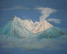 Inspirado en montaña de Japon