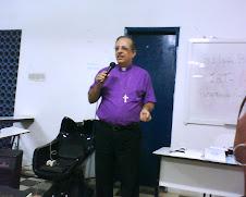 Bispo Robinson na abertura do IAT Colina