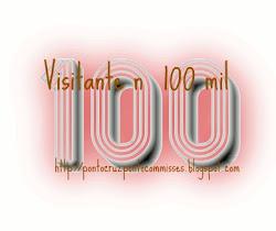 SEJA O VISITANTE Nº 100 MIL