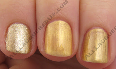 nefertitigoldrush OPI India Collection Comparisons