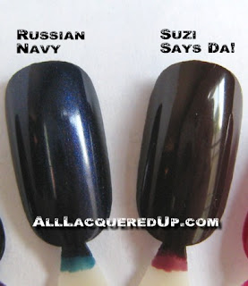 russianwheel5 OPI Russian Collection Swatches