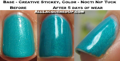 Seche Vite Top Coat Wear Test and Review : All Lacquered Up