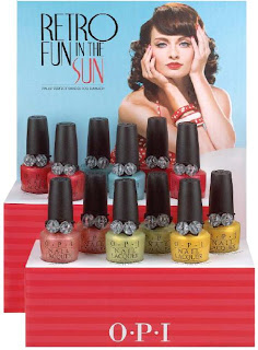 OPI Summer 2008 Preview   Retro Fun in the Sun