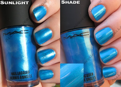 macneoscifiplasmablue MAC Neo Sci Fi Nail Polishes