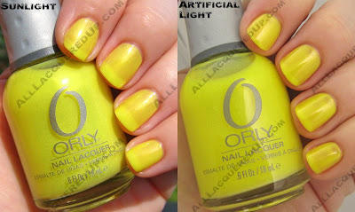 orly live wire Its A Neon, Neon World With Essie & Orly