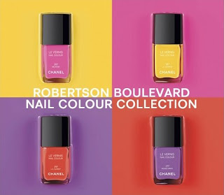 chanel robertson boulevard collection Chanel Robertson Boulevard Nail Colour Collection