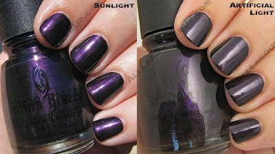 china glaze rodeo diva fall 2008 midnight ride China Glaze Rodeo Diva   Flannel Fixation