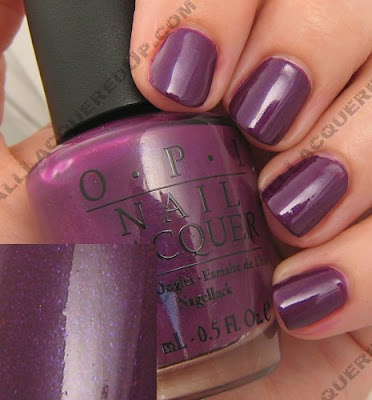 OPI, OPI France, OPI La Collection De France, La Collection De France, Fall 2008, Nail Polish, Nail Color, Nail Colour, Nail Lacquer, Louvre Me Louvre Me Not