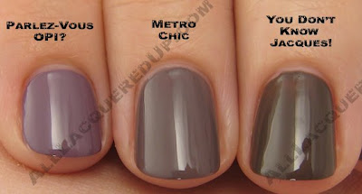 sephora by opi metro chic comparison SEPHORA by OPI Autumn and Eve Collection