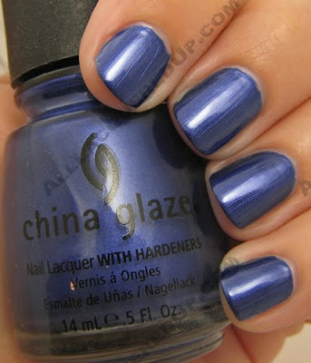 china glaze, bahama blues, winter 2008, nail polish, nail lacquer, nail color, nail colour, blue, blue paradise