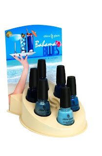 china glaze, bahama blues, winter 2008, nail polish, nail lacquer, nail color, nail colour, blue