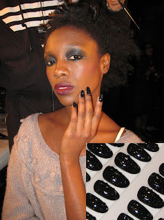 cnd baby phat nyfw fw08 The Nail Files   Behind the Scenes at NYFW with CND   Part 2