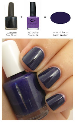 cnd nyfw karen walker recipe blue blood studio 54 The Nail Files   Behind the Scenes at NYFW with CND   Part 3