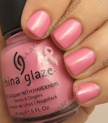 china glaze bca think pink st tropez Think Pink for BCA with China Glaze and AII Beauty