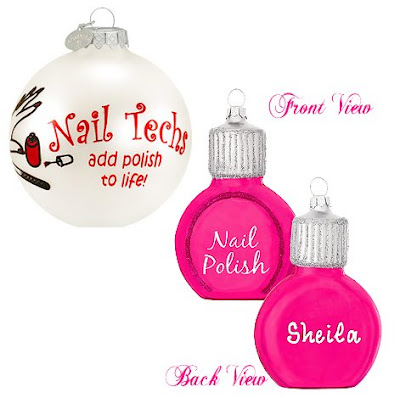 bronners nail polish tech ornament Nail Fanatic Gift Guide   Hands, Feet, Body &amp; More