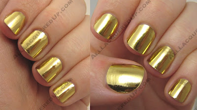minx nails golden lightening Bling Your Nails Like Beyonce With Minx
