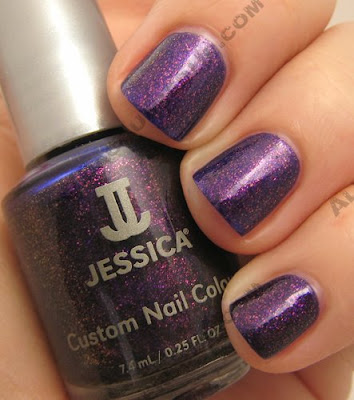jessica nail nutcracker suite sugar plum fairy Jessica Custom Nail Colour   Holiday Petites