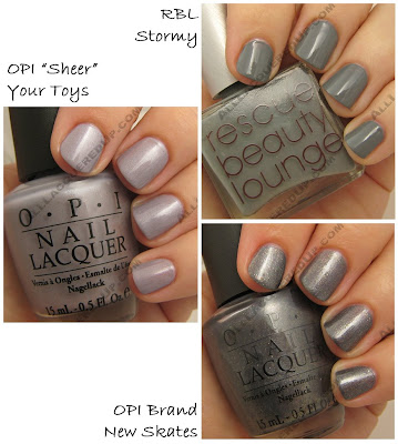 holiday 2008 grey opi rescue beauty lounge Gift Guide   The 21 Hottest Holiday Polishes