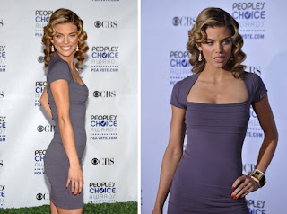 annalynne mccord peoples choice awards red Celebrity Nail Watch 1 9 09