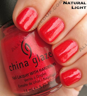china glaze cherry pie summer days 2009 nat China Glaze Summer Days