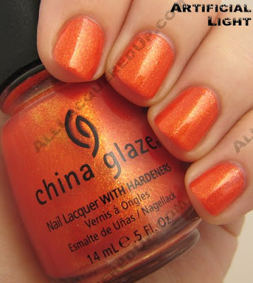 china glaze orange marmalade summer days 2009 China Glaze Summer Days