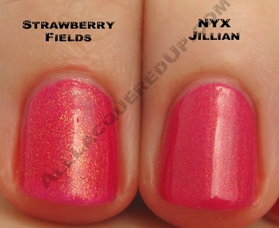 china glaze strawberry fields nyc jillian wm China Glaze Summer Days