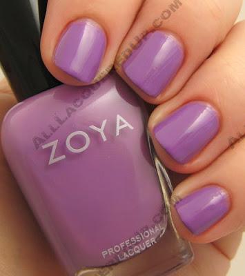 zoya malia, zoya, twist, spring 2009, nail color, nail colour, nail polish, nail lacquer