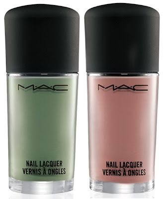 mac sugarsweet lacquer seasonal peach peppermint patti MAC Sugarsweet Preview