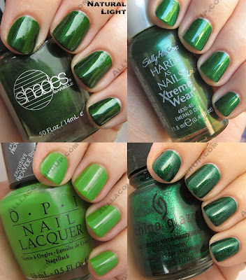 green nail polish st patricks pattys 2009 Get Your Green On for St. Paddys Day