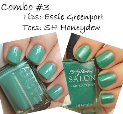 essie greenport, sally hansen tracy reese honeydew