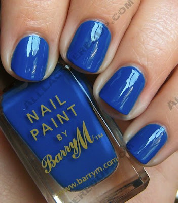 barry m nail paint cobalt blue Barry M Nail Paints