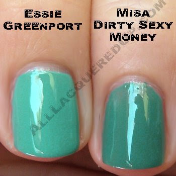 essie greenport misa dirty sexy money Swatch Request Sunday   Blues and Greens and Berries, Oh My!