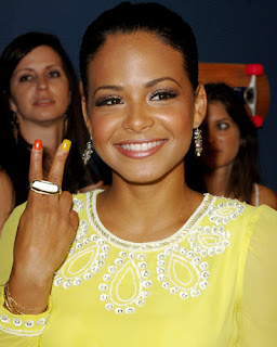 christina milian nails Multi Colored Nails   Trendy or Tacky?