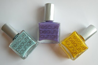 Rescue Beauty Lounge Swatches : All Lacquered Up