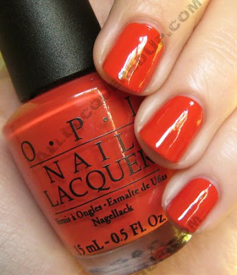 opi, bright pair, paige premium denim, bright pair, summer 2009, nail polish