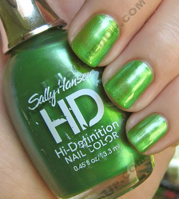 sally hansen hd hi definition hi def Sally Hansen HD Hi Definition Nail Color   Part 1