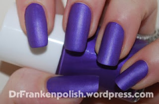 dr frankenpolish Flat Grape franken Whats On Your Nails? with Amanda from Dr. Frankenpolish