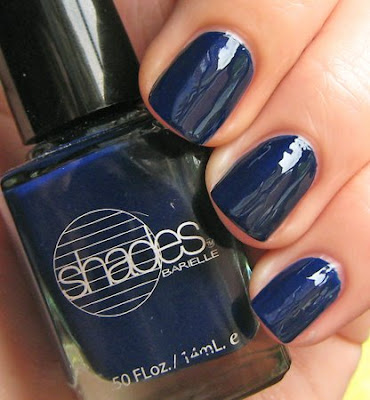 barielle berry blue shades nail polish NOTD   Barielle Berry Blue