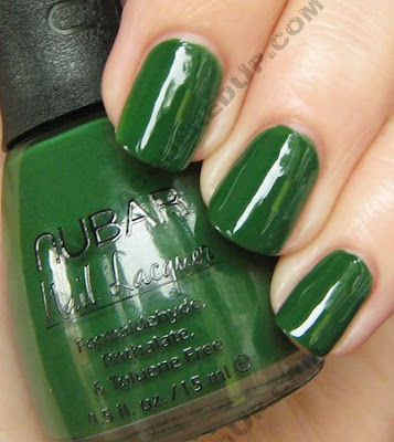 nubar forest going green nail polish Nubar Going Green Collection Review & Swatches